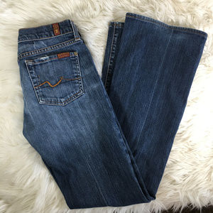 7 For All Mankind Boot Cut Denim Size 26